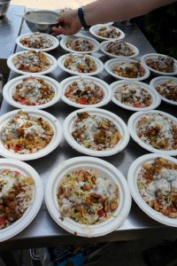 Photograph - Bhel Puri with Apple Bhaji