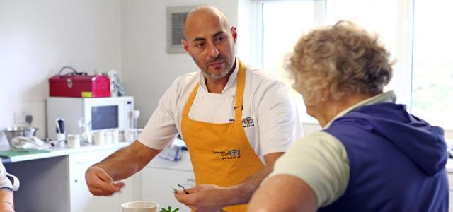 Photograph - Robin van Creveld Cookery Training