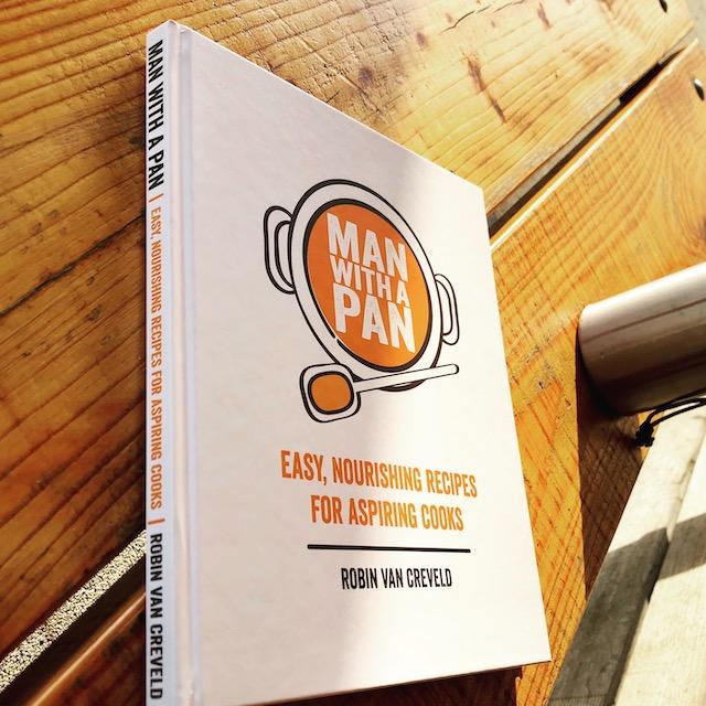 Man with a Pan recipe book
